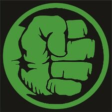 Hulk Sticker / Decal -Choose Size & Color- Marvel, Avengers, Red Hulk