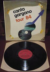 LP-CANTA-GARGANO-TOUR-Alidisco-84-obscure-Italo-disco-synth-pop-Poema-Sharp-VG