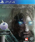 Middle Earth: Shadow of Mordor -- Special Edition (Sony PlayStation 4, 2015)