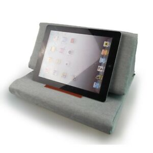 Foldable-Pillow-Tablet-Book-Stand-Holder-Foam-Lap-Rest-Cushion-Lightweight-E7CX