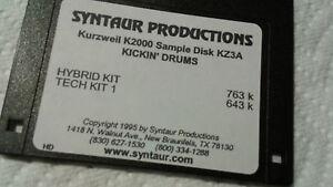 Kurzweil ~ New Old Stock ~ KICKIN' DRUMS ~ KZ3A ~ Kurzweil V.A.S.T Programs!!!