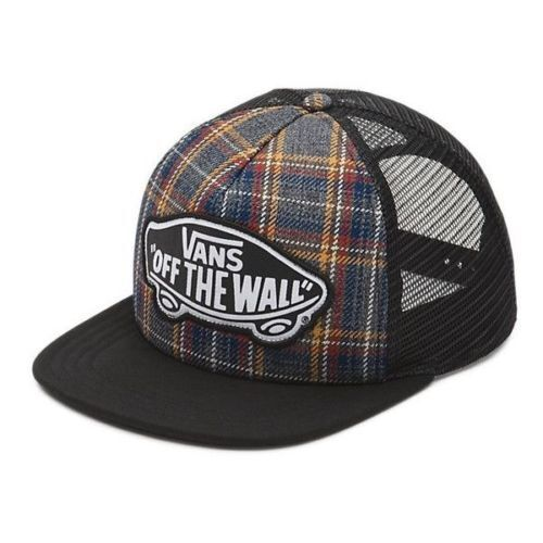 e4768a1d98766f VANS off The Wall Beach Girl Plaid Flannel Trucker Hat One Size Snap Back  for sale online | eBay