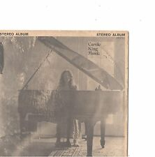 CAROLE KING--LITTLE LP-PICTURE SLEEVE + 45+ STRIPS---PS--PIC--SLV