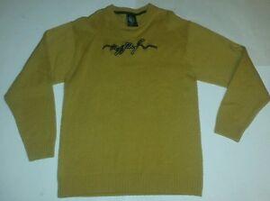 Ruff Ryders DMX Dirty Denim Sweater Sz 3XL Designer Jeans Riders Vintage
