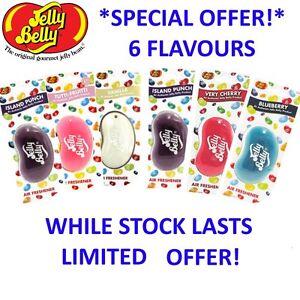 Jelly-3D-Bean-bonbons-Parfum-Desodorisant-de-voiture-6-saveurs-STOCK-LIMITE