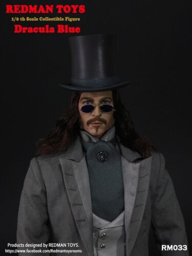 custom 1//6 Scale Collectible Action Figure REDMAN TOYS Dracula Blue Rainman