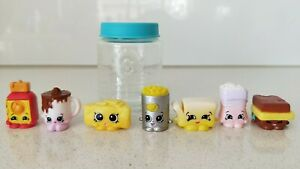 Original-Shopkins-Figures-x7-in-a-Shopkins-Bottle-New-Without-Tag