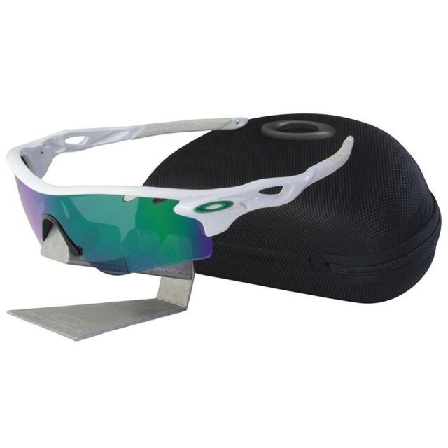 cbd5d26305 Oakley OO 9181-05 Radarlock Path Polished White Jade Iridium Mens Sunglasses  . for sale online