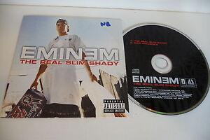 EMINEM-CD-POCHETTE-CARTONNEE-THE-REAL-SLIM-SHADY