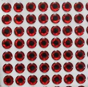 560pcs-4-5mm-Red-color-3D-soft-Holographic-fishing-lure-eyes-Fly-Tying-Crafts