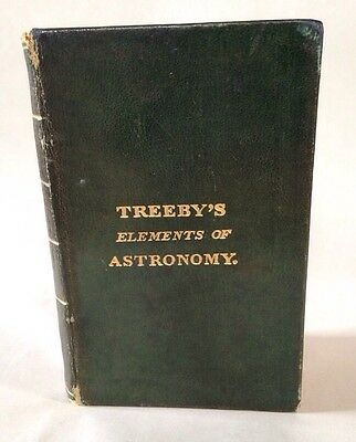 1821 Treeby's Elements Of Astronomy First Edition (Julia Parker Wightman)