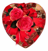 Heart Shaped 10 Assorted High Quality Belgian 45-48 Chocolate Platter 750g