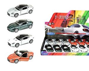 JAGUAR-F-Type-modello-di-auto-auto-prodotto-con-licenza-scala-1-34-1-39