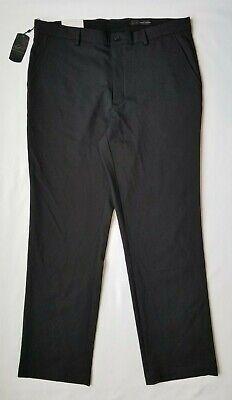 NWT Men/'s Greg Norman Performance Strength Pants 38x32 Black Modern Fit Comfort