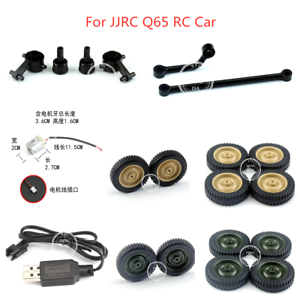 Jjrc Q65 Rc Car Spare Parts Charger Motor Replacement Tires Steering Pull Rod Ebay