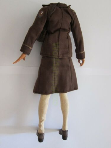 """1//6 WWII 21st Century The Ultimate Soldier US Woman/'s Army set for 12/"""" Figure"""