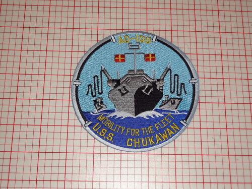 "USN U.S.S Chukawann /""Mobility For The Fleet/"" Patch T2-56"
