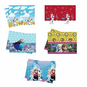 nappe de table en plastique sous licence disney frozen gammes f te ebay. Black Bedroom Furniture Sets. Home Design Ideas