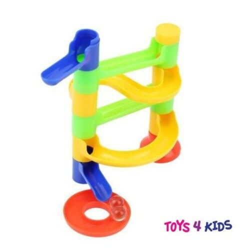 Marble Run Race Set Building Blocks Construction Toy Game With Marbles UK Seller