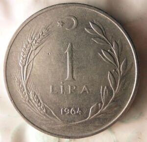 FREE SHIP 1964 NEW ZEALAND FLORIN BARGAIN BIN #173 Excellent Coin
