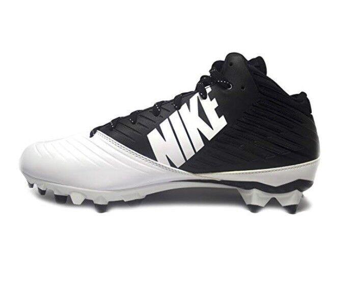ecc5f347fef7 Nike Men s Vapor Speed 3 4 TD Football Cleats Black White Size 14 ...