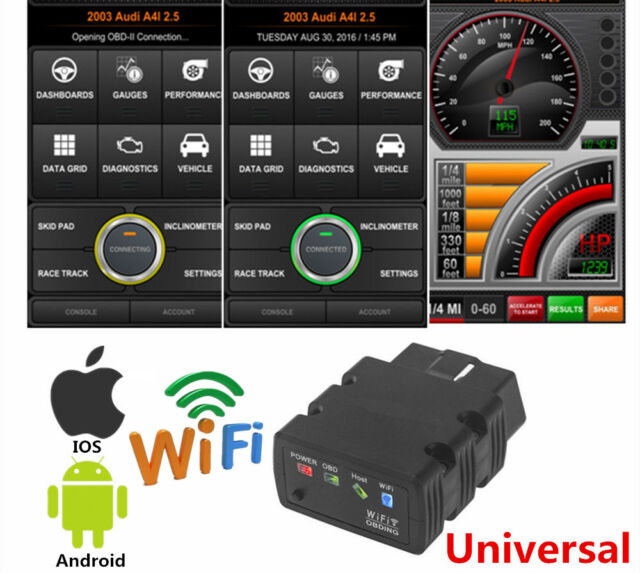 Universal KW902 ELM327 WiFi OBD2 OBDII Car Diagnostic Scanner For iPhone Android