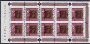 Bund-Mi-Nr-1065-KB-Kleinbogen-FIP-Kongress-1980-postfrisch-MNH