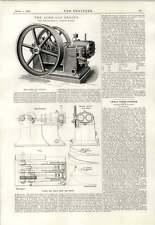 1890 The Acme Gas Engine Glasgow Mcghee And Burt