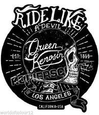613/2 King Kerosin Ride Like 2XL Aufkleber Sticker Biker Bobber Motorrad Harley