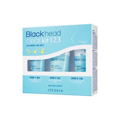 It'S SKIN Black Head Clear Kit 123 - 3items