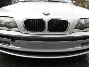 BMW-E46-Abertura-para-Parachoques-Delantero-sin-Soporte-de-la-Placa-de-Licencia