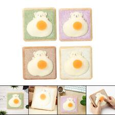 New Listingsoft Bear Omelette Bread Slices Mini Notebook Desk Table Diy Decor Handbook