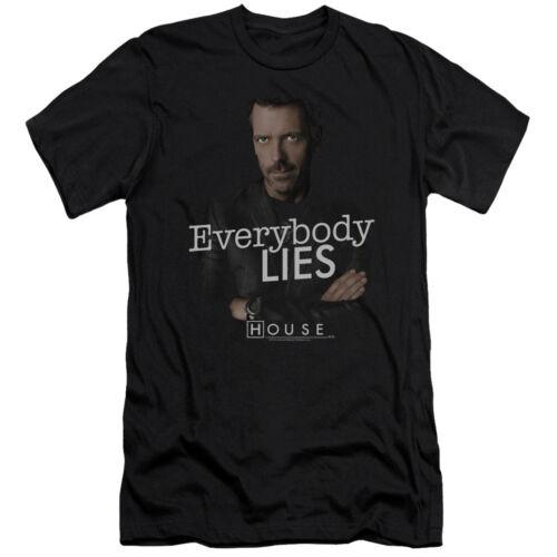 House Medical NBC TV Series Everybody Lies Adult T-Shirt Tee