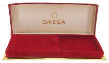 VINTAGE - ORIGINAL OMEGA  ETUI / BOX IN ROT AUS DEN 50/60ER JAHREN