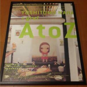 YOSHITOMO-NARA-graf-A-to-Z-Exhibition-2006-PROMOTION-POSTER-FROM-JAPAN-F-S