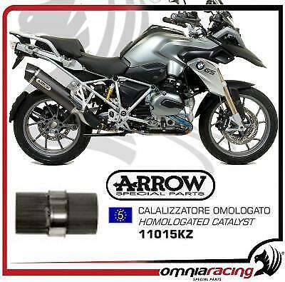 Arrow e5 homologado Conversor catalítico para BMW R1200GS Adventure 2014 14>