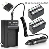 Kastar Battery Charger Sony Gv-d700 Hdr-ax2000 Hdr-fx1 Hdr-fx7 Hdr-fx1000 Trv815