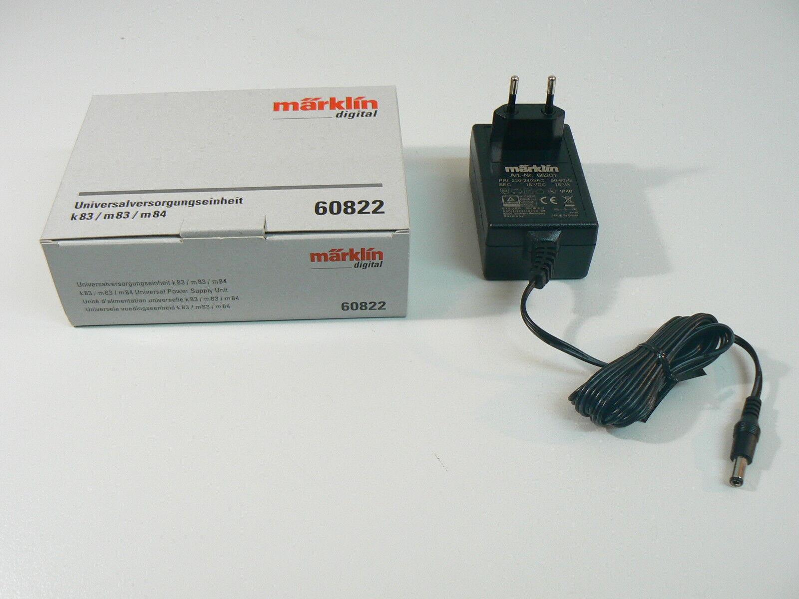 Märklin h0 60822 + 66201, Universal unità di approvvigionamento, k83 m83 m84 NUOVO