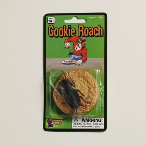 Joke,Gag and Pranks Easy and Reusable! Cookie Roach! Scare Your Friends!