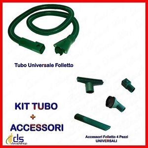 TUBO SET 5 ACCESSORI PER FOLLETTO VORWERK 130 131 135
