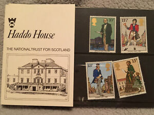 Haddo House The National  Trust For Scotland Stamps And Card Descriptions