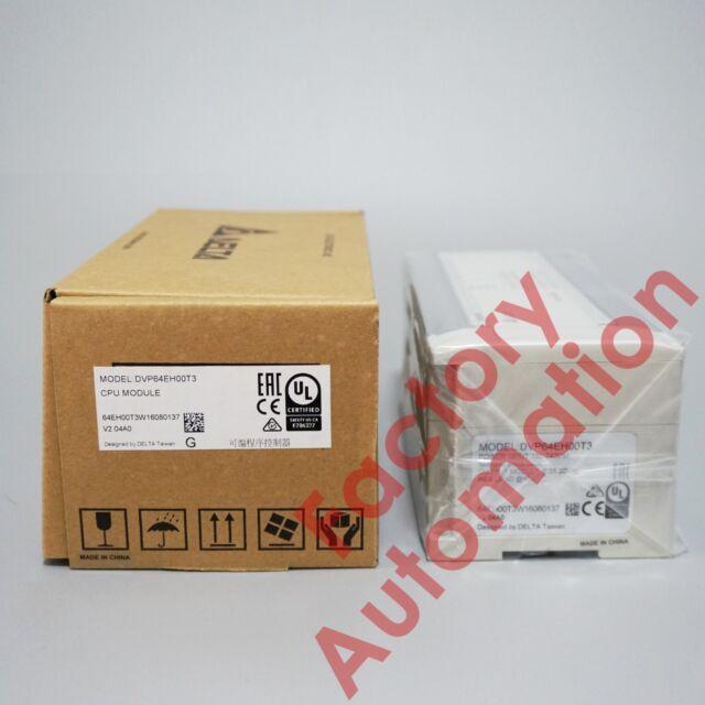 *NEW IN BOX* 1PCS Delta PLC DVP64EH00T3 , 90 DAYS WARRANTY