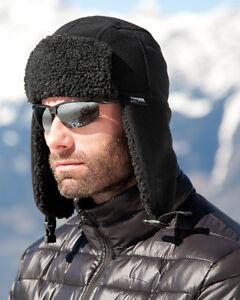 Image is loading Result-Winter-Essentials-Thinsulate-Sherpa-Hat-Warm-Fleece- 8e4e8e296f7