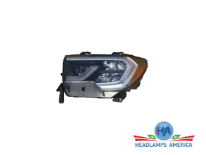 OEM Headlight - Toyota Sequoia (Black, w/o Platinum Model) 18-20 Lh