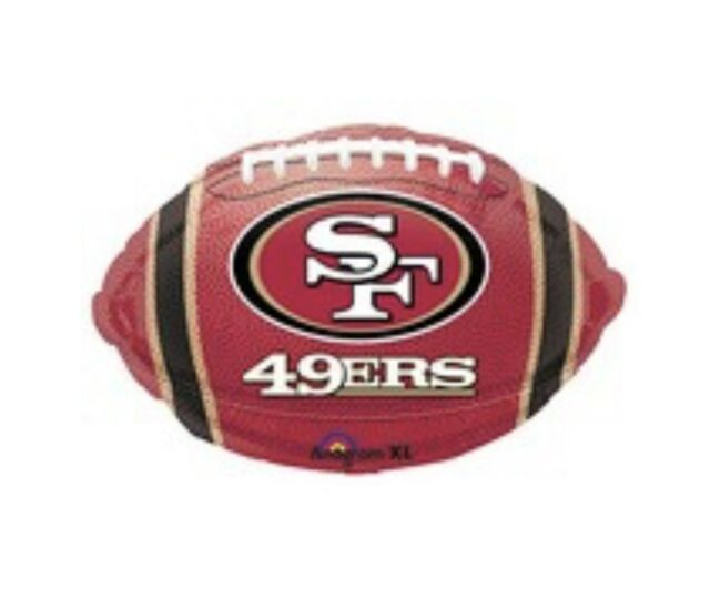 San Francisco 49ers Football 18 Balloon Birthday Party Decorations