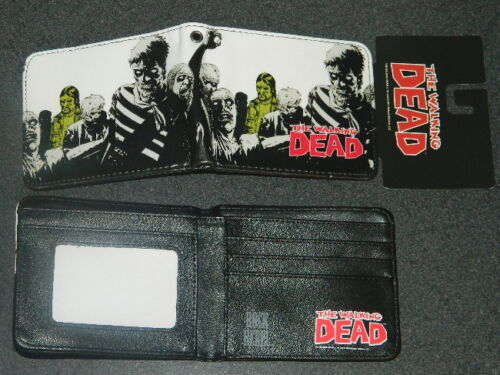 The Walking Dead TV Series The Governor Zombies Bi-Fold Wallet NEW UNUSED