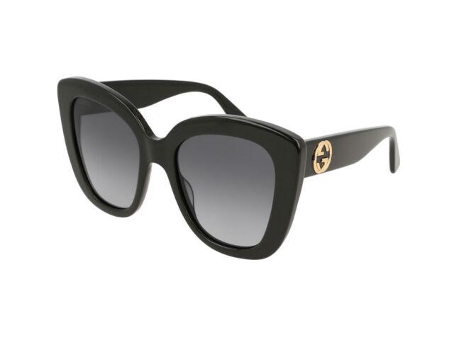 36c9e66abb Gucci sole Gg0327s 001 Grigio Nero Gradiente | Acquisti Online su eBay