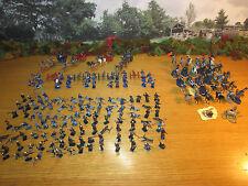 25FP BIG LOT OF PAINTED 1/72 PLASTIC U.S. CIVIL WAR UNION INF. CAVALRY ARTILLERY