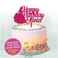 c2bbf9860 item 4 PRINCESS Personalised Birthday Cake Topper Cake Decoration Girls  Kids Her Custom -PRINCESS Personalised Birthday Cake Topper Cake Decoration  Girls ...