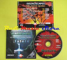 CD SOUNDSCAPES RELAXING MUSIC NATURE compilation UPI SUNRISE E MOTION NEVE (C6)